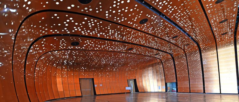 arquitectura_Snoetta_Centro Abdulaziz_sala exposiciones