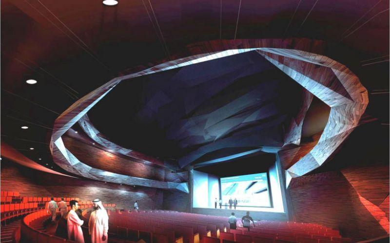 arquitectura_Snoetta_Centro Abdulaziz_sala proyecciones