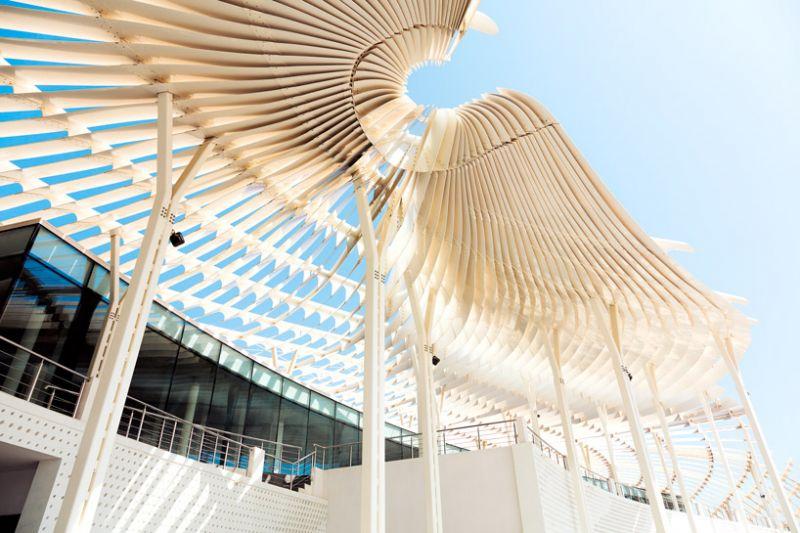 arquitectura_snohetta_mutrah fish market _detalle pérgola