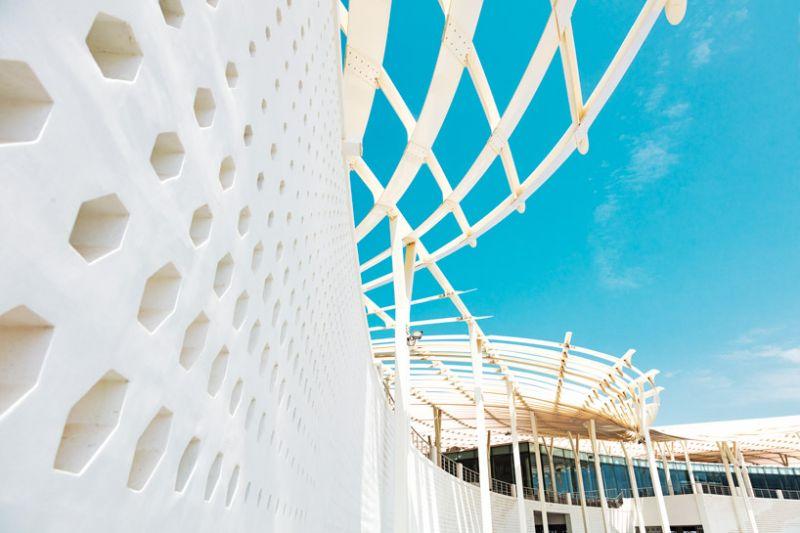 arquitectura_snohetta_mutrah fish market _detalle muro