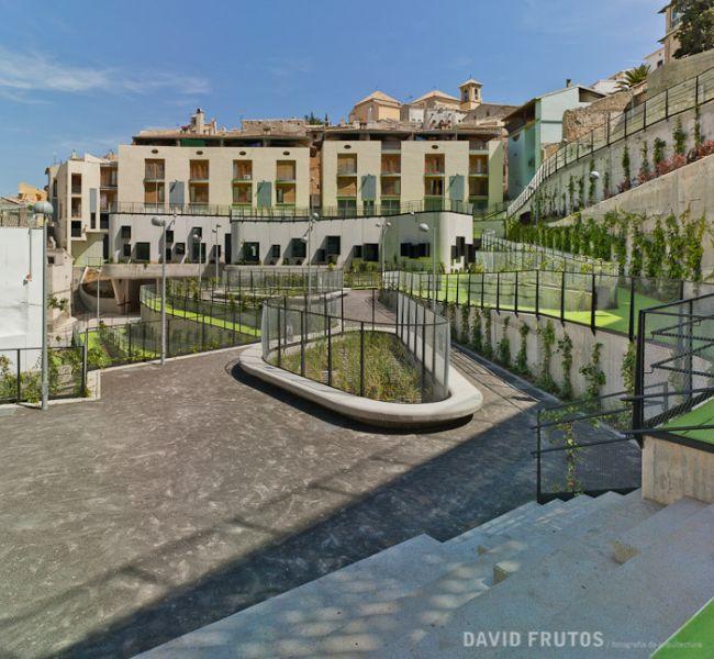 arquitectura sostenible_el jardín que produce agua-edificación 3
