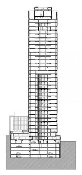 arquitectura sostenible_lamela_torre astro_sección