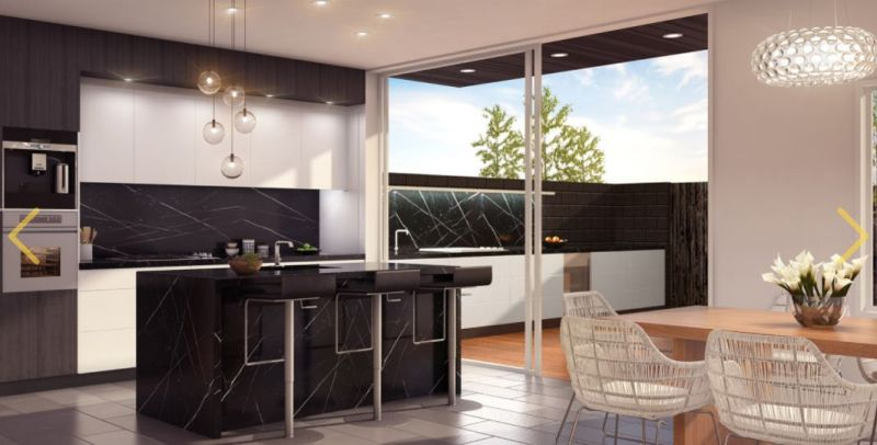arquitectura sostenible_MSD_six urban residences_cocina