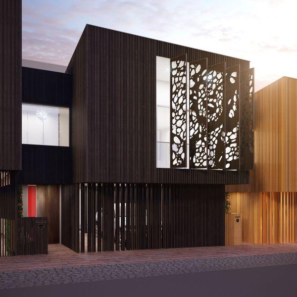 arquitectura sostenible_MSD_six urban residences_fachada móvil