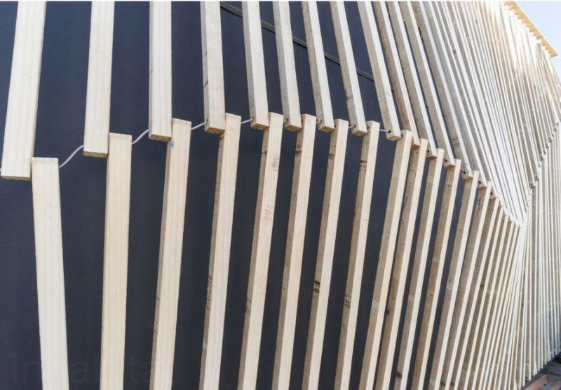 arquitectura sostenible_RISE House_Solar Decathlon_detalle fachada
