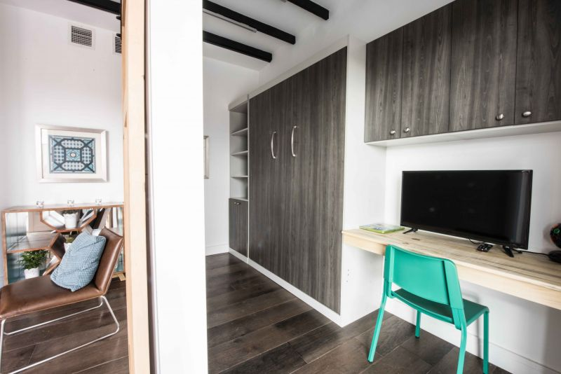 arquitectura sostenible_RISE House_Solar Decathlon_dormitorio2