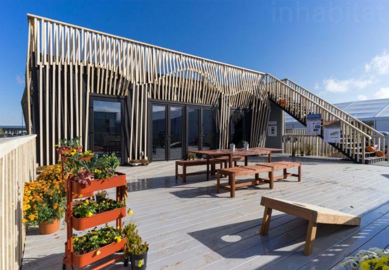 arquitectura sostenible_RISE House_Solar Decathlon_terraza