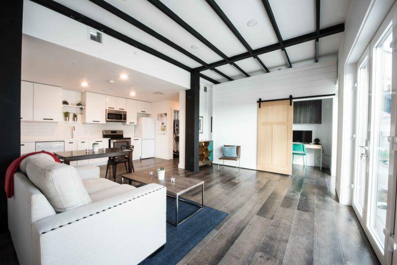 arquitectura sostenible_RISE House_Solar Decathlon_interior 2