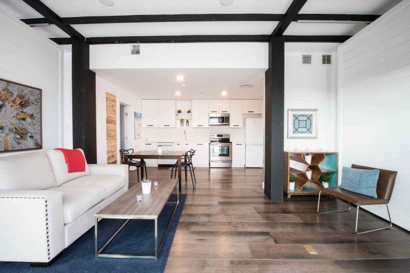 arquitectura sostenible_RISE House_Solar Decathlon_salón