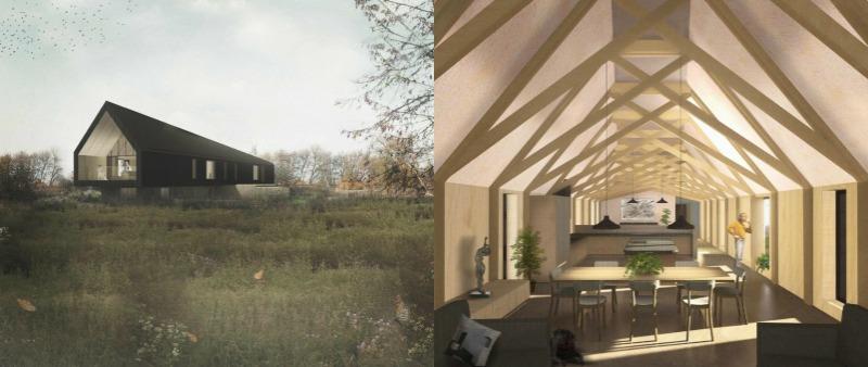 arquitectura, arquitecto, diseño, design, interior, interiorismo, sostenible, sostenibilidad, ecología, ecológico, ecológica, vivienda, casa, unifamiliar, Inglaterra, Studio Bark, Black Barn, autosuficiente, energía solar, eficiencia energética