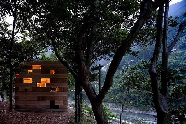 Arquitectura Sou Fujimoto_Final Wooden House_exterior_Iwan Baan