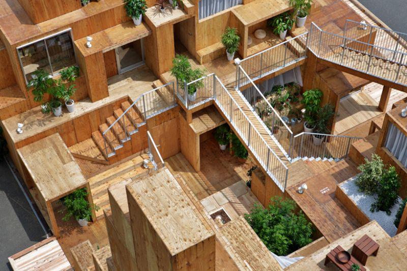 Arquitectura Sou Fujimoto_House Vision_interior