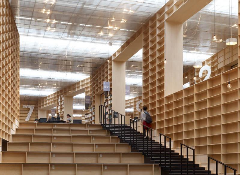 Arquitectura Sou Fujimoto_Musashino Art Museum_interior_Daici Ano