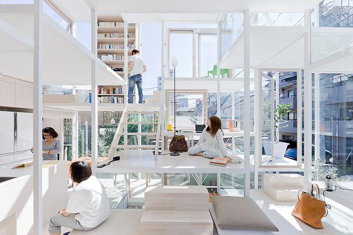 Arquitectura Sou Fujimoto_NA House_interior_Iwan Baan