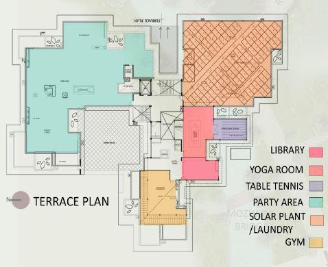 arquitectura_ space art_plano usos cubierta