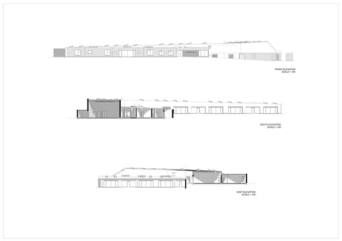 arquitectura_St Bronaghs Primary School_sec