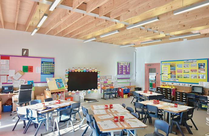 arquitectura_St Bronaghs Primary School_aulas