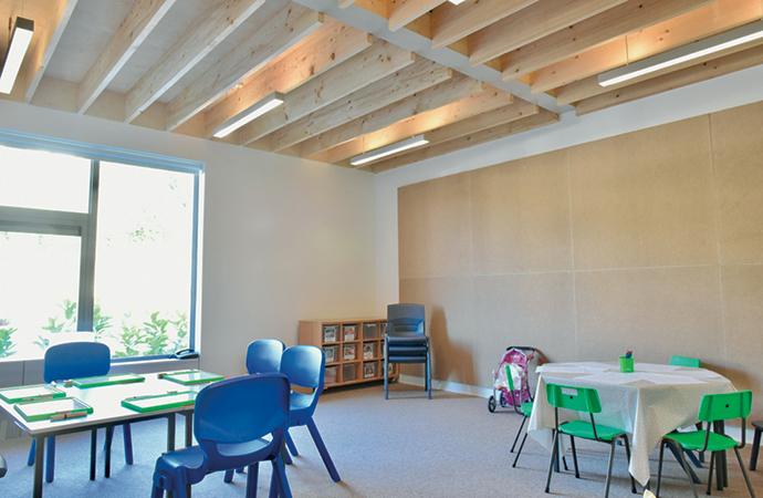 arquitectura_St Bronaghs Primary School_aula