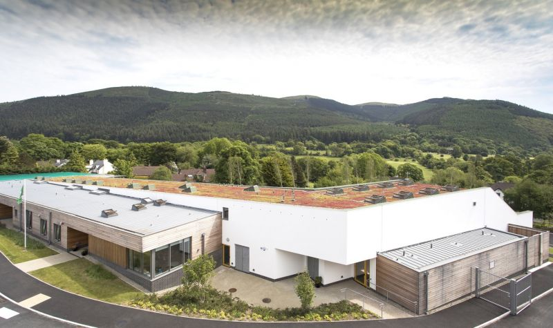 arquitectura_St Bronaghs Primary School_cubierta