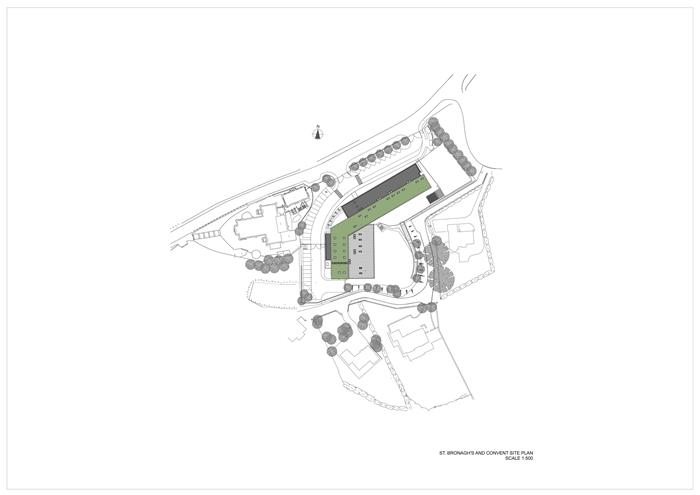 arquitectura_St Bronaghs Primary School_plano situación 0