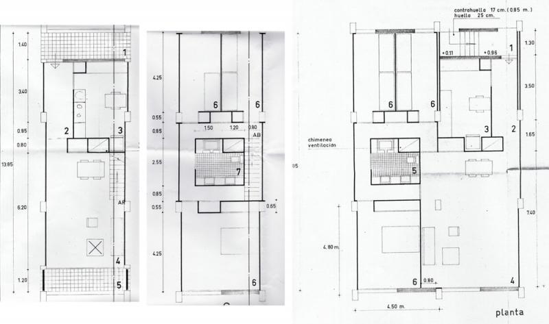 Arquitectura racionalista cooperativa santa mar a micaela for Planta arquitectonica biblioteca