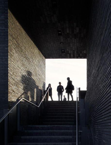 arquitectura_Stanton Williams_Kings Cross Pavilion_conexión exterior entre niveles