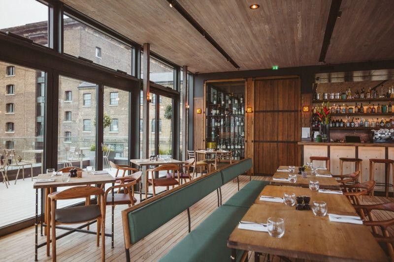 arquitectura_Stanton Williams_Kings Cross Pavilion_interior_restaurante