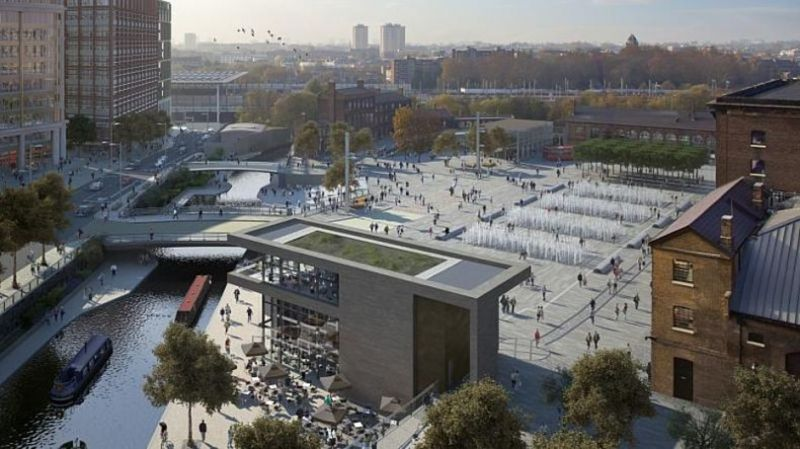 arquitectura_Stanton Williams_Kings Cross Pavilion_vista aerea