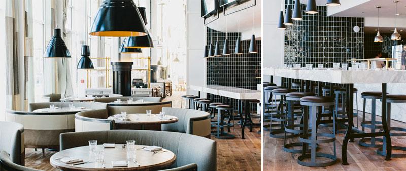 arquitectura, interiorismo, St.Cecilia, Meyer Davis Studio, restaurante, diseño