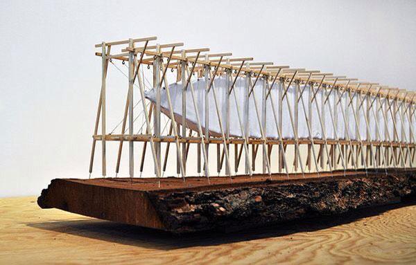 Memorial Steilneset Peter Zumthor y Louise Bourgeois arquitecturayempresa maqueta estructura
