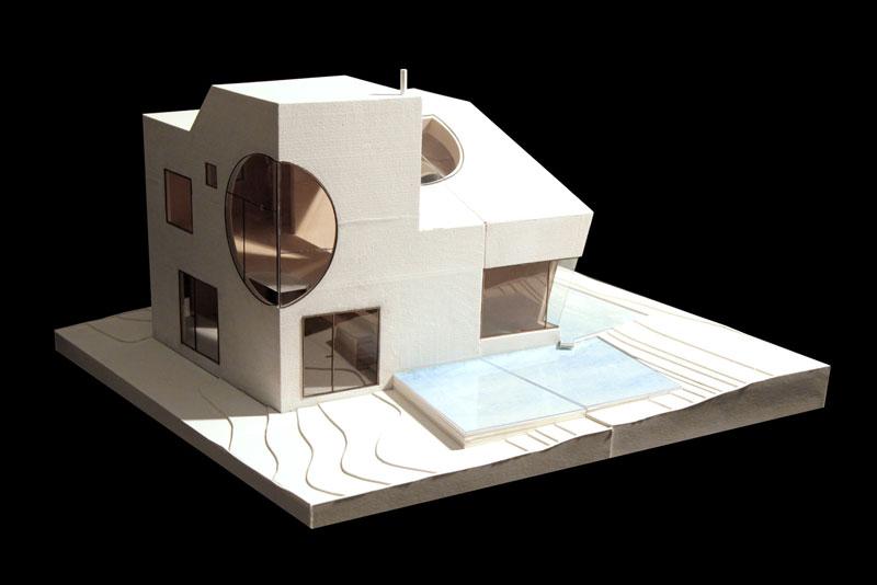 casa ex of in steven holl maqueta