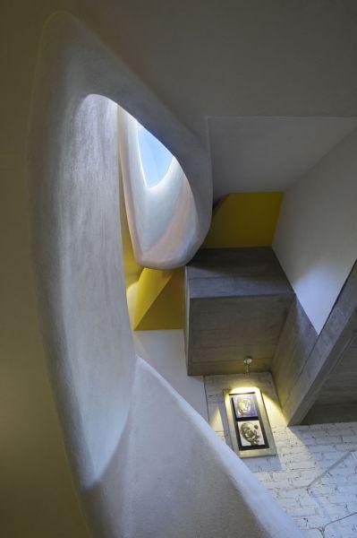 arquitectura studio b15 casa piedras chinas fotografía jorge silba escalera