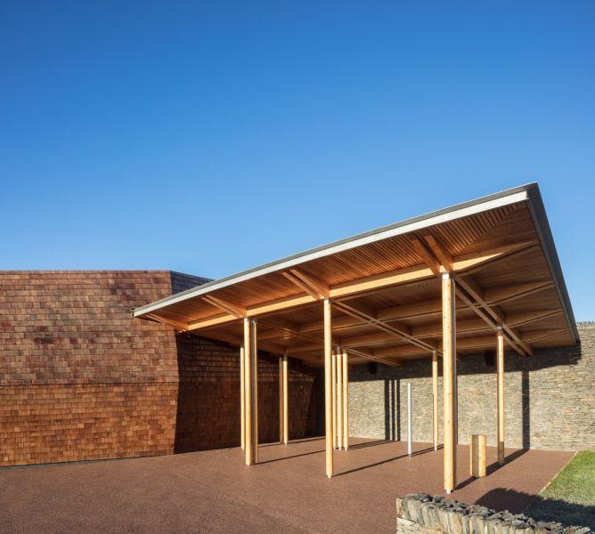 arquitectura_Sunbeams music centre_pérgola