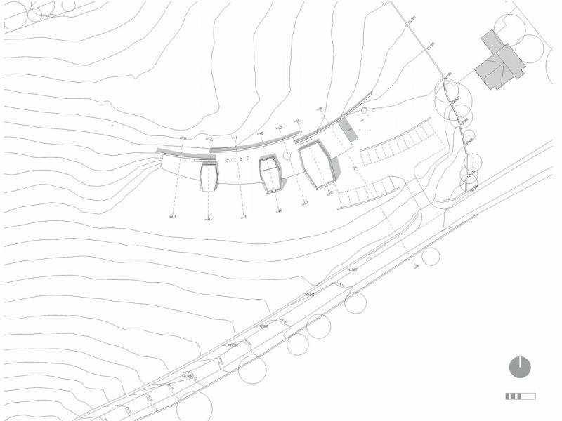 arquitectura_Sunbeams music centre_plano situación