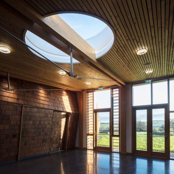 arquitectura_Sunbeams music centre_recepción2