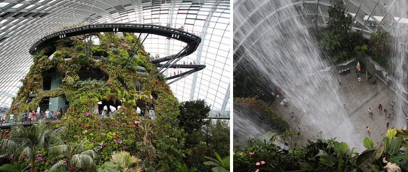 arquitectura, Grant Associates, Gardens by the Bay, Supertrees, sostenibilidad