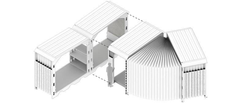 arquitectura, arquitecto, sostenibilidad, sostenible, modular, Suricatta Systems , Shelter Unit for Rapid Installation, Suri, Urbana de Exteriores