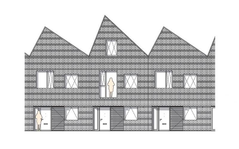arquitectura_Sutton Houses_alzado