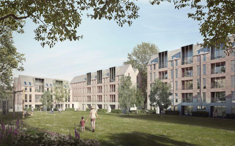 arquitectura_Sutton Houses_fachada jardín