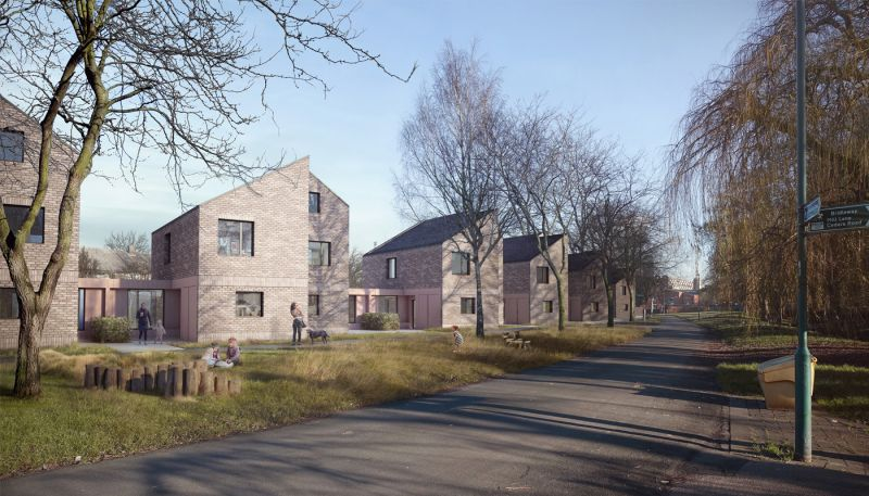 arquitectura_Sutton Houses_conjunto adosados