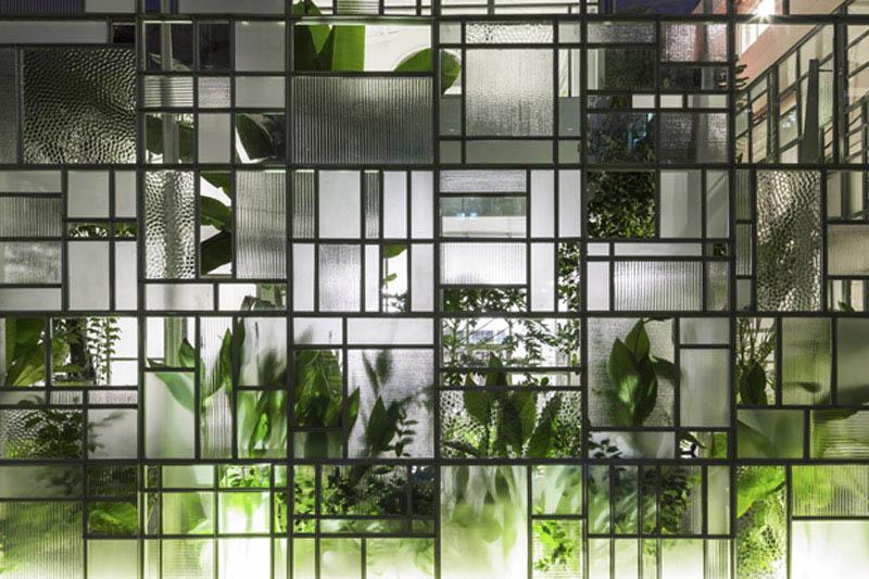 Arquitectura_t-house-keintruc _ imagen detalle cristalera