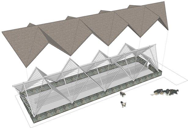 arquitectura_Taiyang_Organic_Farming_Commune_composición