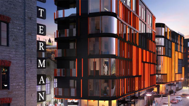 edificio de oficinas en Rotermanni