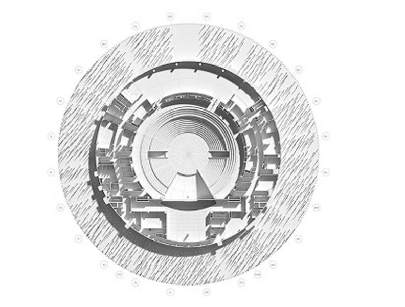 Arquitectura_Teatro Show Wuxi TAIHU_planta