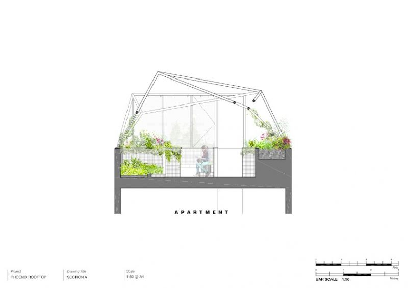 arquitectura_techo verde_Bent Architecture_sec