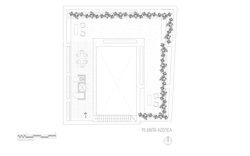 arquitectura_Tecolote_planta de cubierta