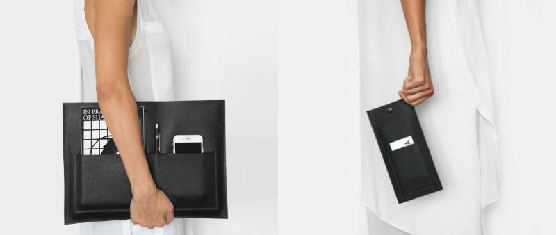 arquitectura, arquitecto, diseño, design, diseño de producto, bolso, porta-documento, The Atelier YUL, Canadá, Montreal, Cece de la Montagne, planos, piel, cuero, handmade, hecho a mano, calidad, minimalista, minimalismo, funcional, práctico