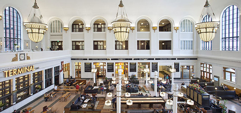 Arquitectura_The Crawford Hotel – Denver Union Station_vista general hall