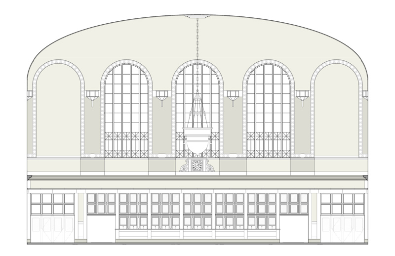 Arquitectura_The Crawford Hotel – Denver Union Station_seccion transversal