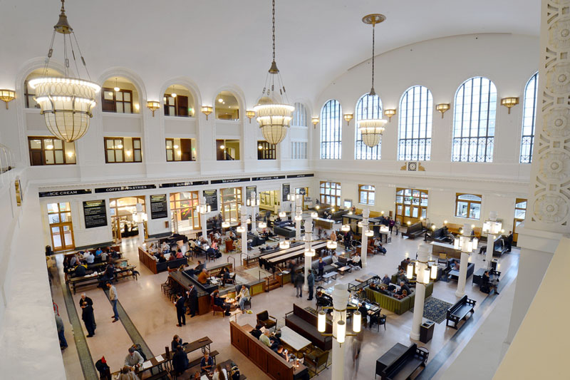 Arquitectura_The Crawford Hotel – Denver Union Station_imagen hall vestibulo interior